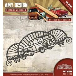 Antique car border dies, Amy design