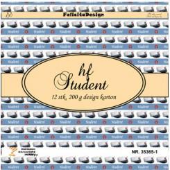 HF Studenter 12 ark design karton