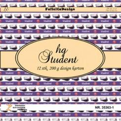 HG Studenter 12 ark design karton