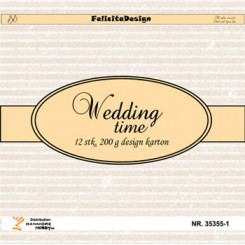 Wedding time  design karton