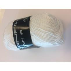 Bomuldsgarn hvid fv. 002