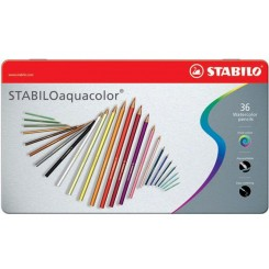 Aquacolor blyanter 36 stk Stabilo