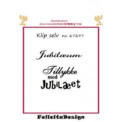 Jubilæum / Tillykke med jubilæum