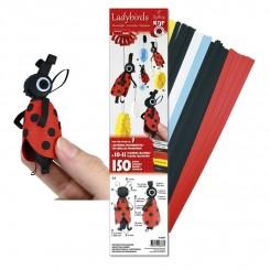 3 D Ladybirds Quilling Kit