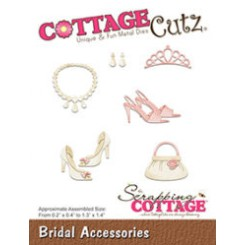 Bridal Accessories dies CottageCutz