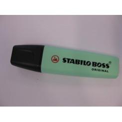 Overstregning pastel grøn, Stabilo