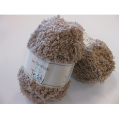 Teddy garn L. Brown 50 g Polyester