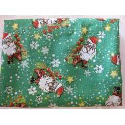 Grøn julestof nr. 5  Julemanden
