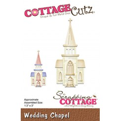 Wedding chappel dies , CottageCutz