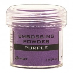 Embossingpulver Purple,  Ranger