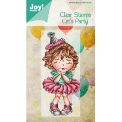 Joy stempel Lets party