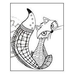 Doodle stempel Ræv MD EWS2211