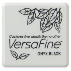 Versafine onyx black small
