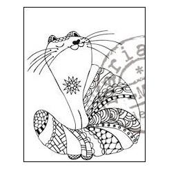 Doodle stempel Kat MD EWS2210