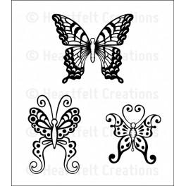 Botanical Wings stempel sæt