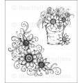 Sunflower Bouquet stempel sæt