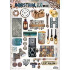 Industrial 3-D udstanset ark Studio