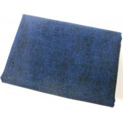 Meleret Blå Patchwork 50 x 55 cm