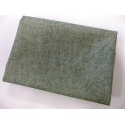 Meleret Blågrøn Patchwork 50 x 55 cm