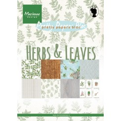 Herbs & Leaves design blok, MD
