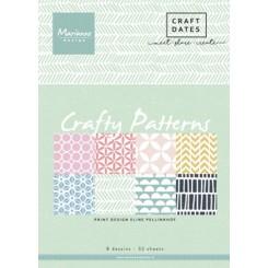Crafty patterns design blok, MD