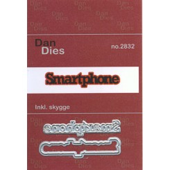 Smartphone m skygge,Dan dies