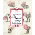 Mouse baby Story toppers 9 x 9 cm