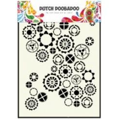 Tandhjul stemcil A5, Dutch Doobadoo