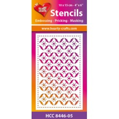 Stencil Hearty Crafts HCM8446-5
