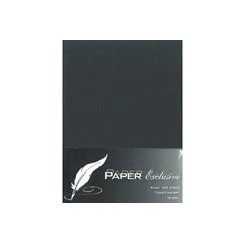 Exclusive kort Raven black A6 x 10