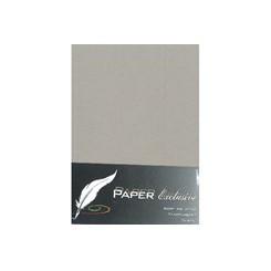 Exclusive kort Lyse grå A6 x 10