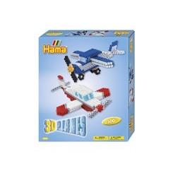 Hama perlesæt 3-D fly