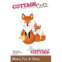 Rævemor med baby dies, CottageCutz