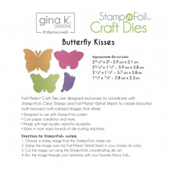 Butterflies kisses dies, Gina K