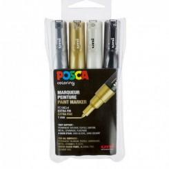 Posca Paint marker PC1 4 stk pak