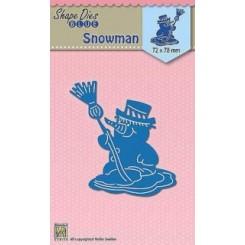 Snowman dies, NS