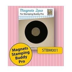 2 stk magneter til Stamping buddy pro