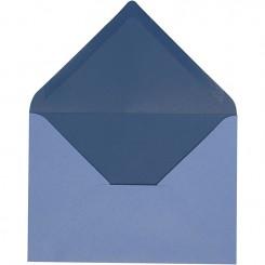 Kuverter Blå 10 stk