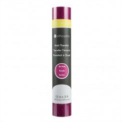 Heat transfer glitter Hot Pink 30,5 x 91,4 cm