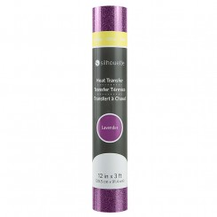 Heat transfer glitter Lavender 30,5 x 91,4 cm