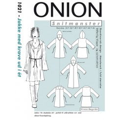 Onion snitmønster 1021 Jakke