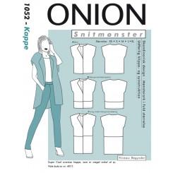 Onion mønster 1052 Kappe