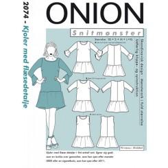 Onion mønster 2074  kjole