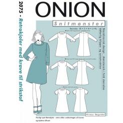 Onion mønster 2075  kjole