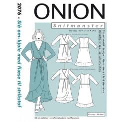 Onion mønster 2076 Slå om kjole