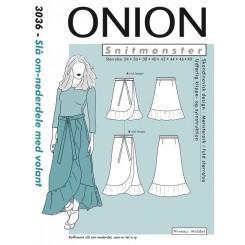 Onion mønster 3036 Nederdel ny