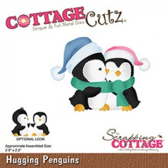 Hugging penguins dies CottageCutz