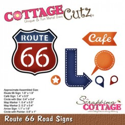 Route 66 dies CottageCutz