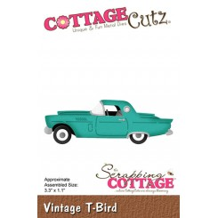 Vintage T-bird dies CottageCutz