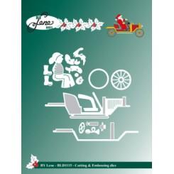 Julemandens bil, By Lene